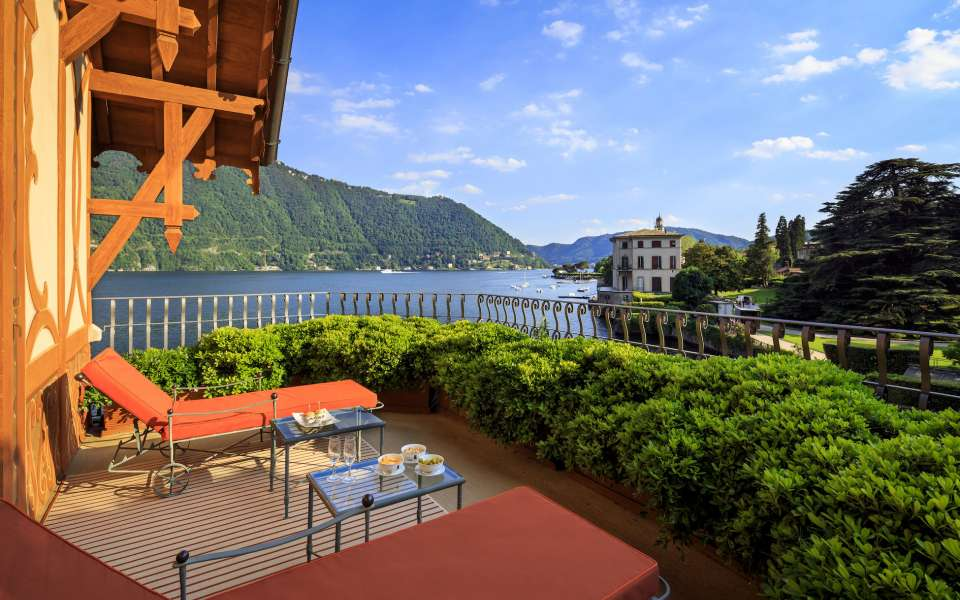 luxury Villa Cima, Como lake, private terrace, first floor