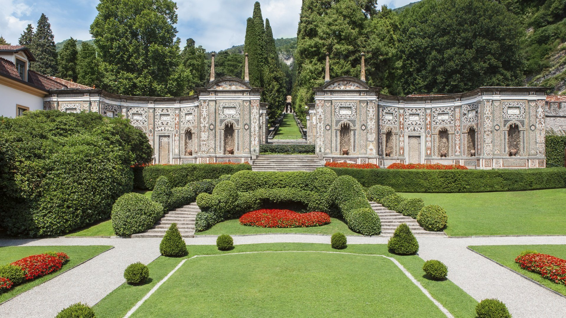 Villa D'Este entrance Como lake