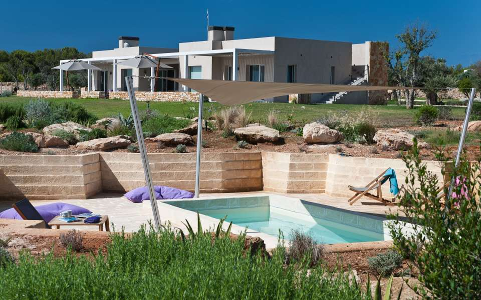 luxury villa for rent in Favignana
