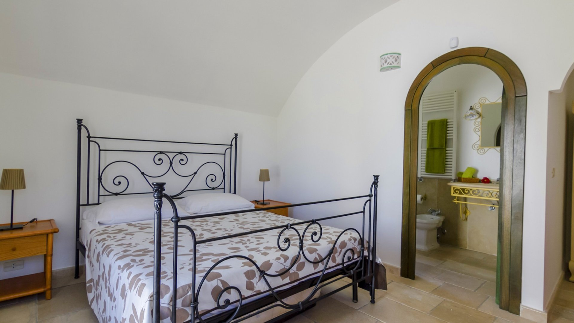 main trullo, bedroom n. 2