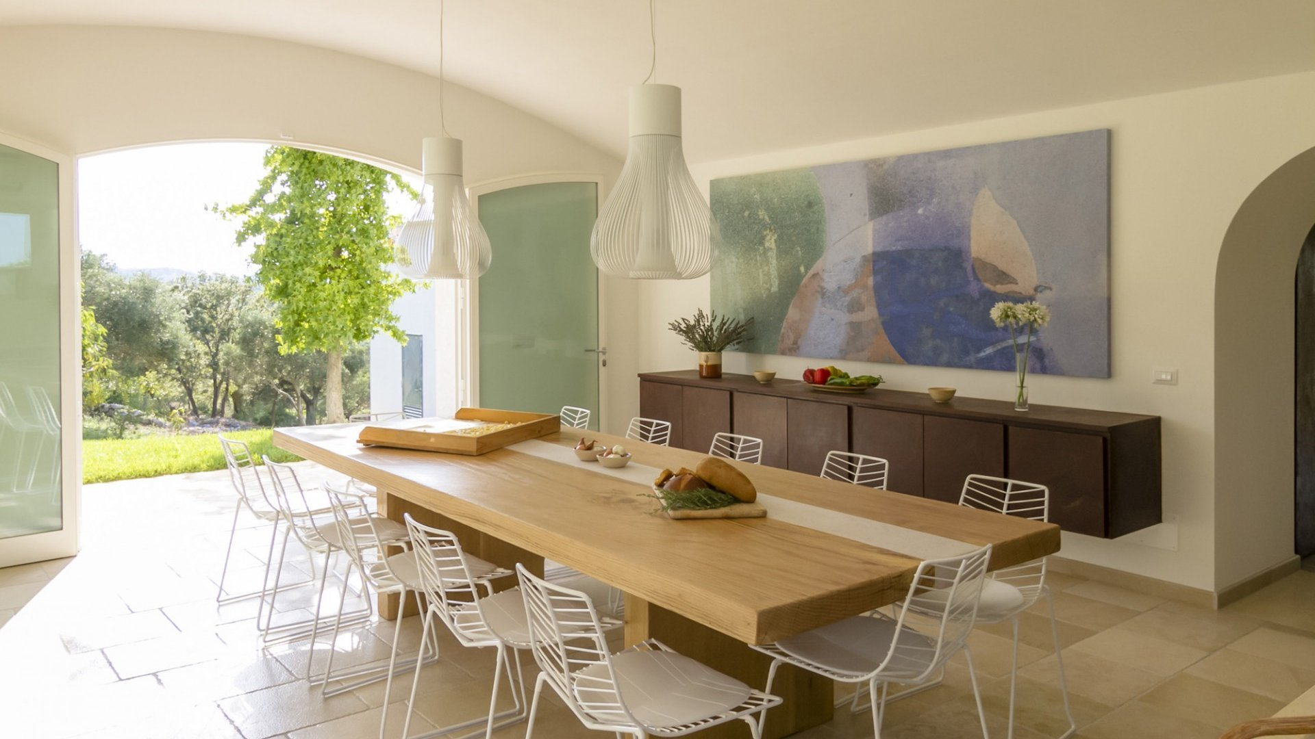 main trullo, dining room