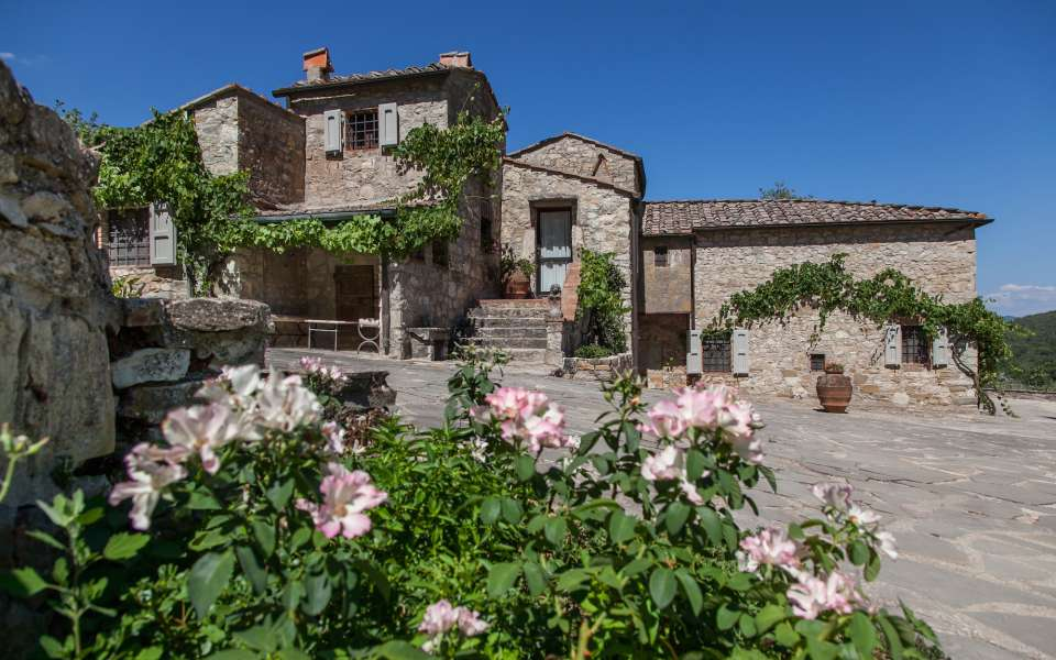 luxury vacation rental in a Tuscan villa