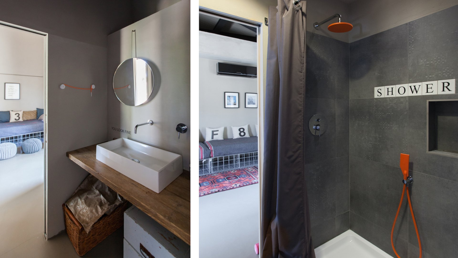 bathroom shared by bedrooms 1 & 2