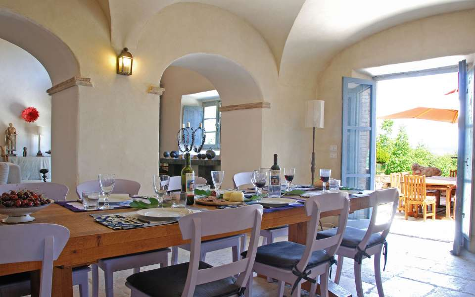 luxury Tuscan villa for rent