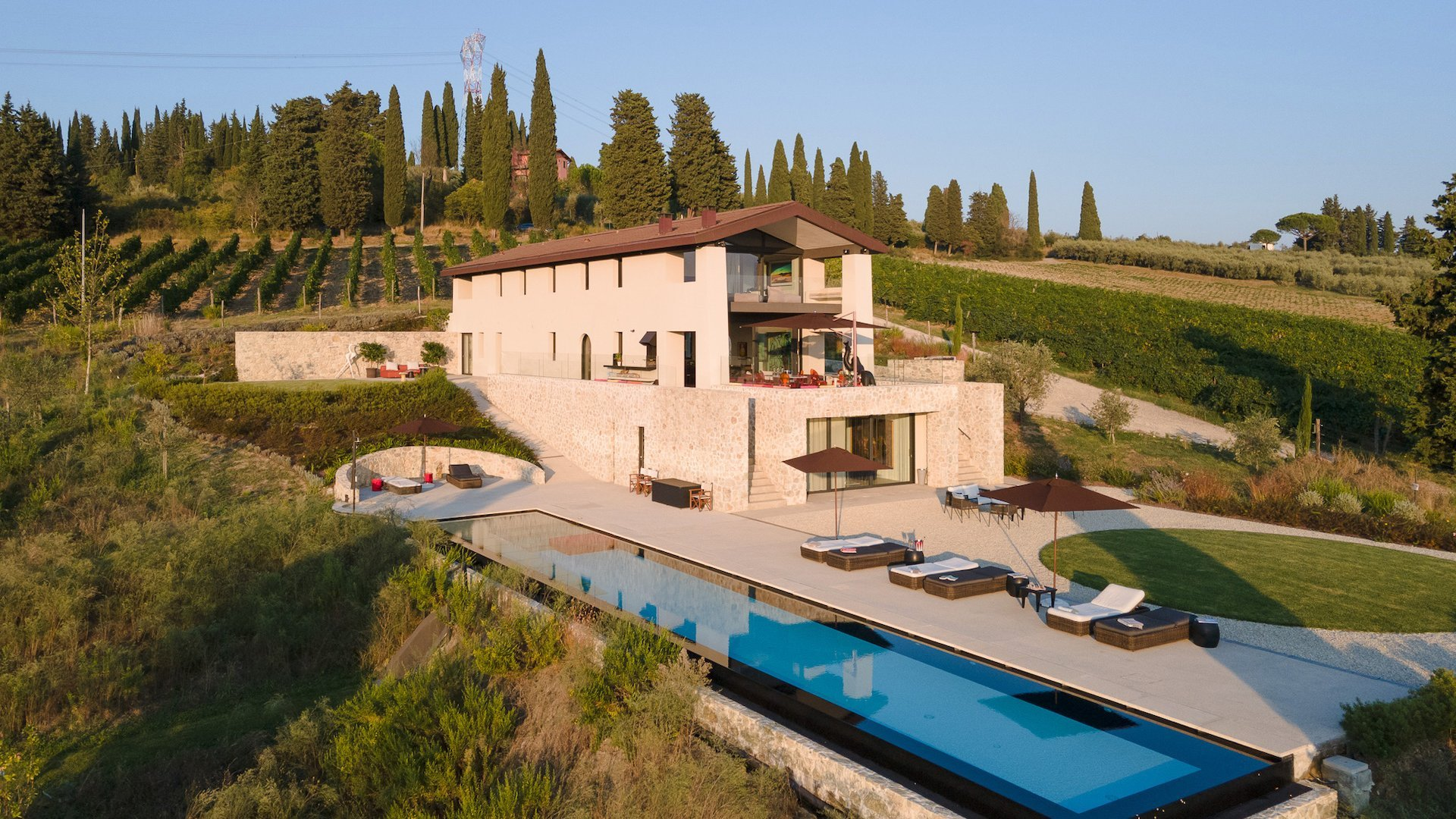 Luxury villa Angioletto for rent in Tuscany, capannori   Home In Italy