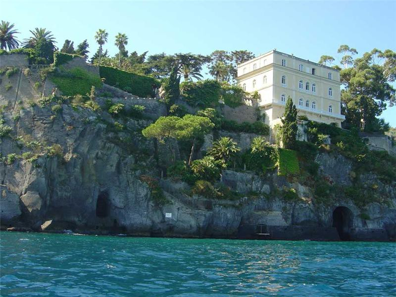 Villa Astor from the sea